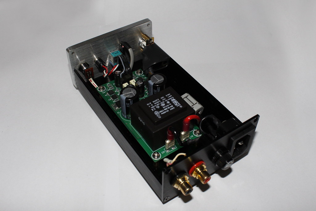 NE5532 SMD headphone amplifier | This amplifier is based on … | Flickr