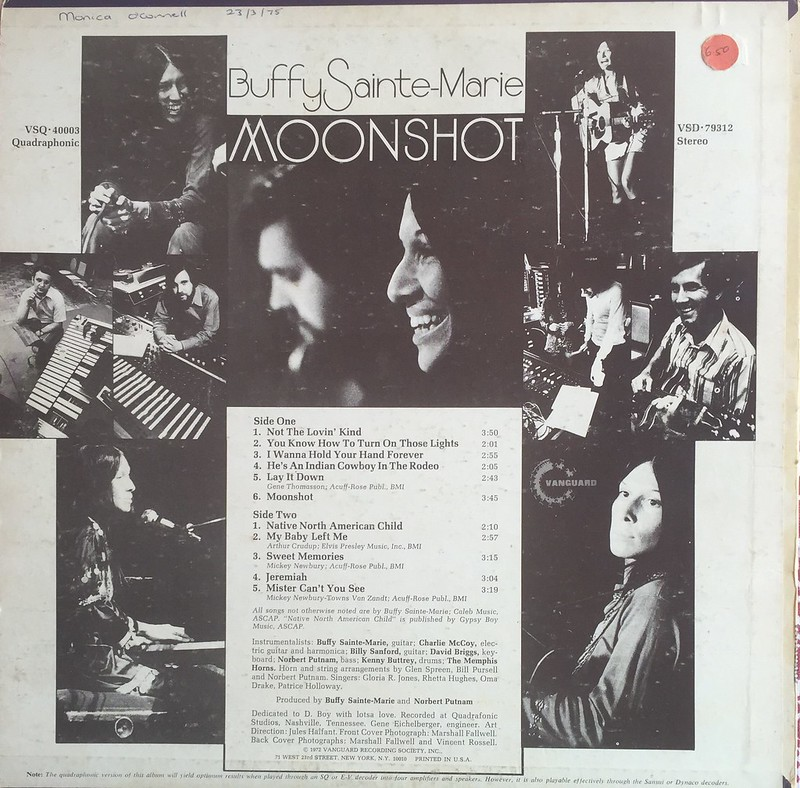 042 - Buffy Sainte-Marie - Moonshot LP (B)