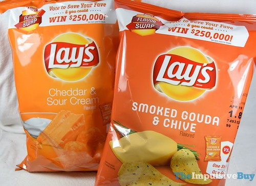 Lay's Smoked Gouda & Chive Potato Chips (Flavor Swap) 3   by theimpulsivebuy