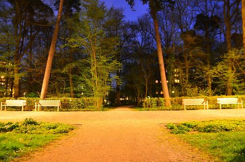 Bänke Heegwaldpark