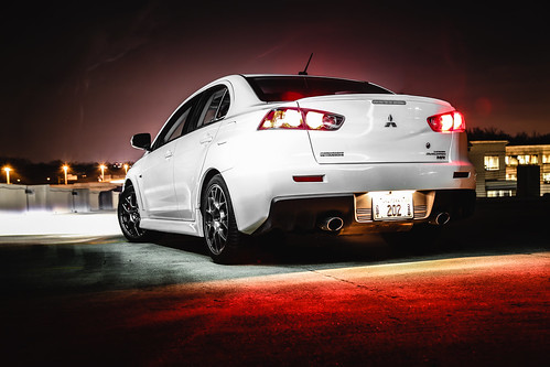 2015 Mitsubishi Lancer Evo Shoot Photo