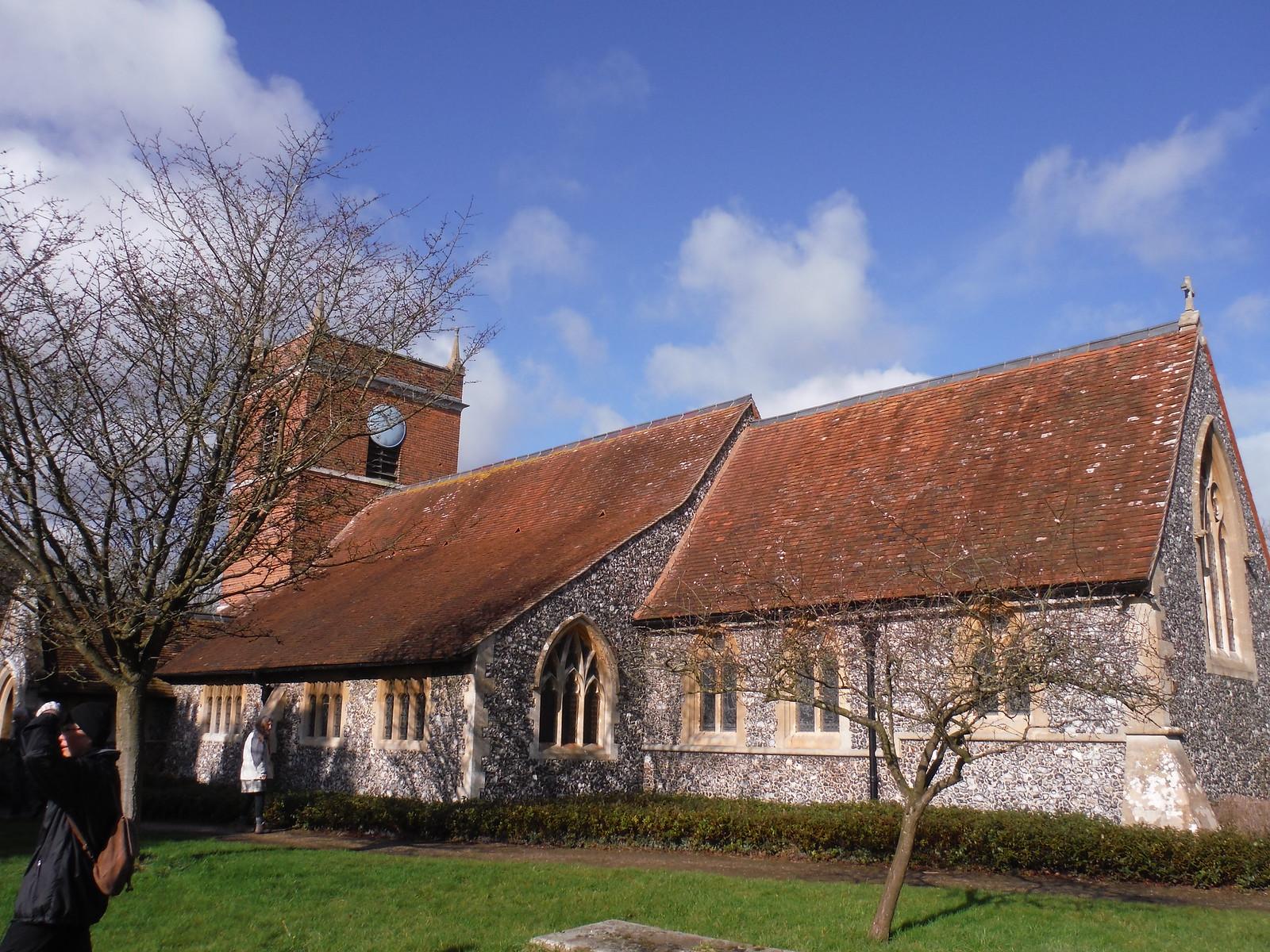 St. Mary's, Beenham Valence SWC Walk 117 Aldermaston to Woolhampton (via Stanford Dingley)