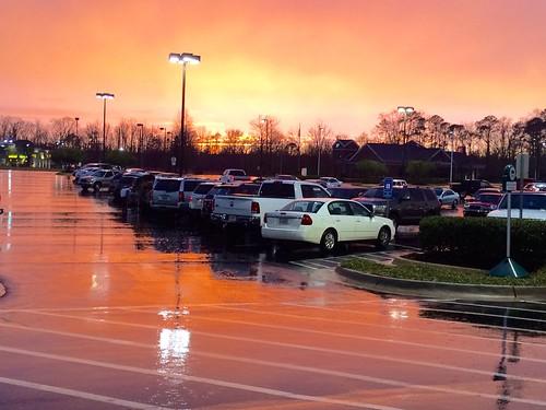 sunset rain alabama tuscaloosa