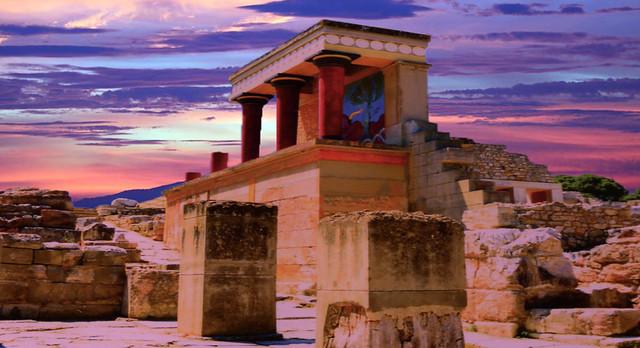 Minoan Palace Ruins