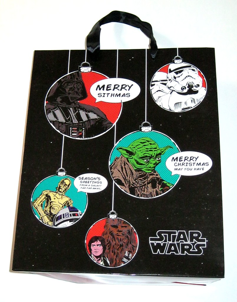 Christmas Gift Bags Australia.Star Wars Christmas Gift Bag With Comic Book Art Licensed By