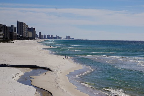 winter beach gulfofmexico sand surf waves florida sandy resort fla panamacitybeach panamacity resorttown