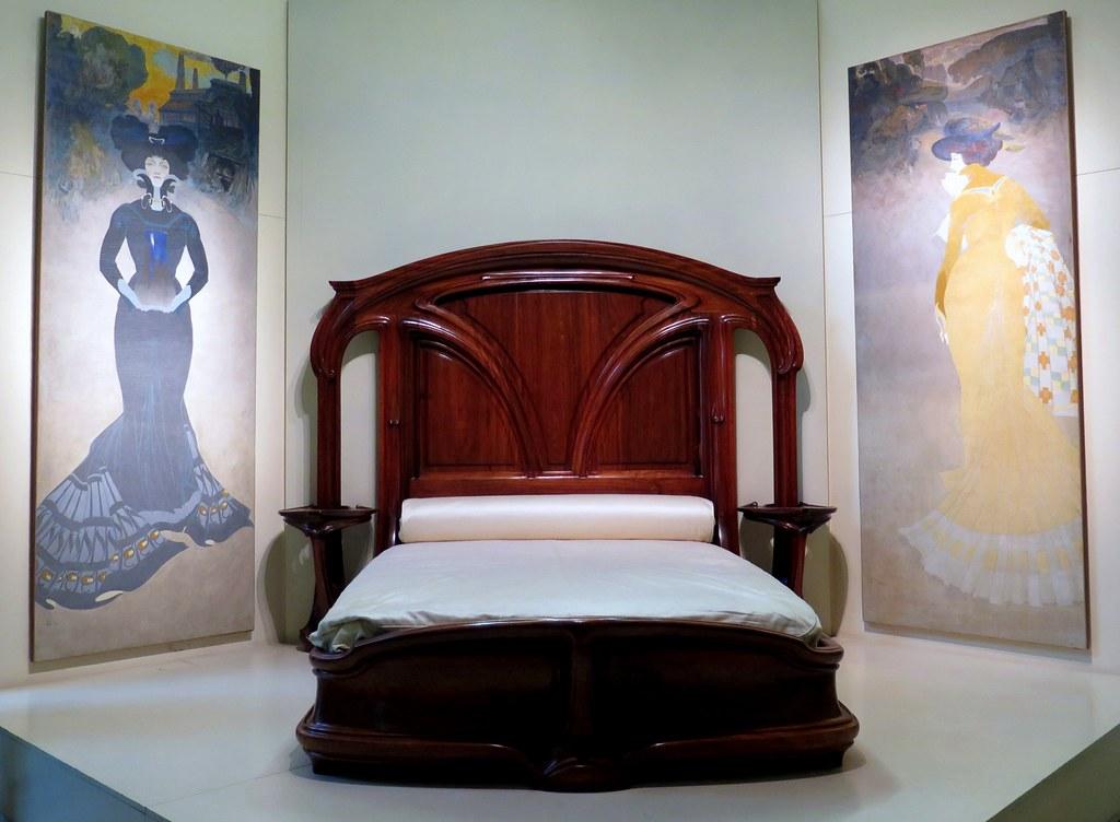 Pleasing Art Nouveau Bedroom Furniture 1904 By Eugene Vallin Flickr Download Free Architecture Designs Osuribritishbridgeorg