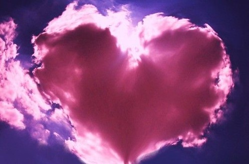 Pink Cloud Heart | by maf04