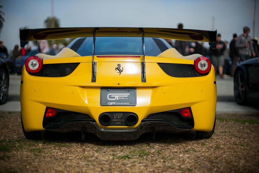 Ferrari 458 Italia Rear Spoiler Leica M240 Noctilux M As Flickr