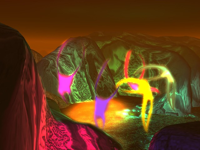 Ascenion to the 10th Dimension -Rainbow Dance In Creature Canyon