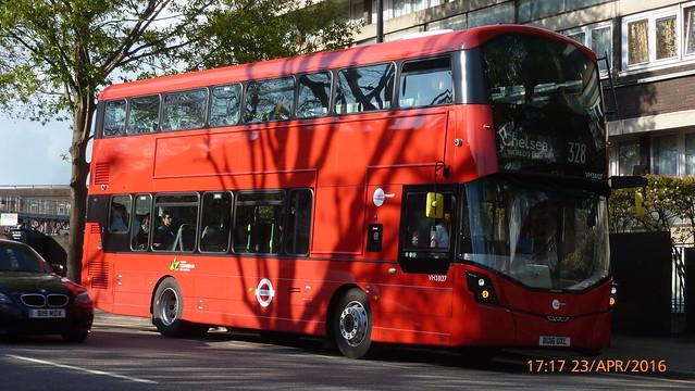 P1410470 VH38127 BU16 UXL at Westbourne Park Station Great Western Road Westbourne Park London