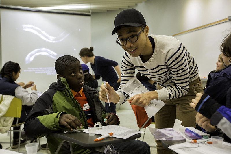 On April 28, 2016, faculty, staff and their children participated in Bring Our Children To Work Day across the University of Toronto's three campuses. Children took part in a variety of scheduled activities throughout the day and job-shadowed their parents.