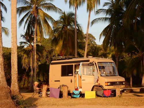 Chacala - campsite aan het strand