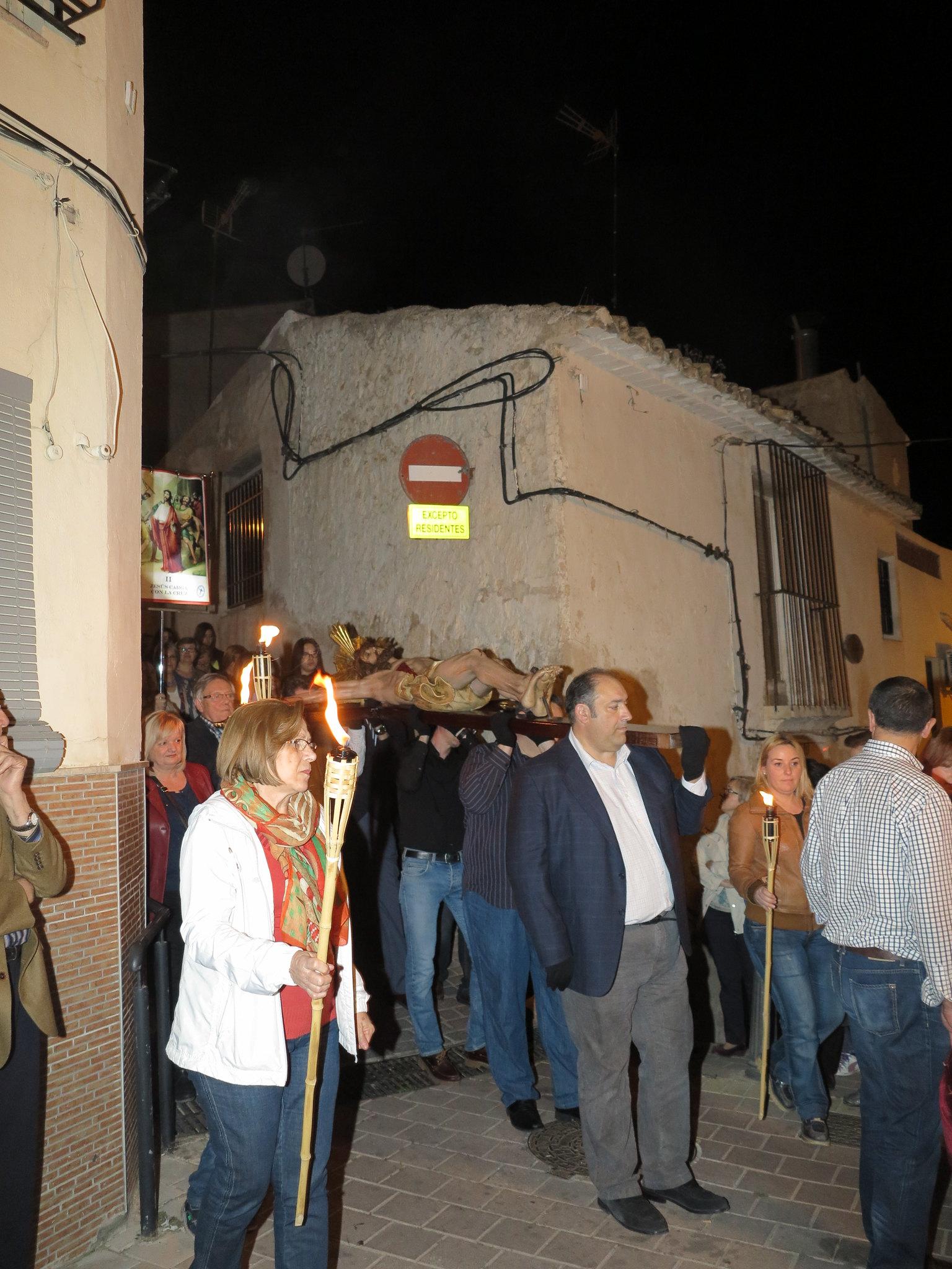 (2014-04-01) - V Vía Crucis nocturno - Antonio José Verdú Navarro (10)