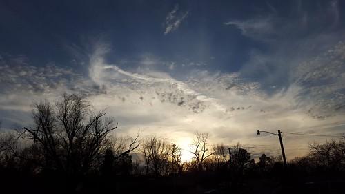 sunset weather bartlesville cloudsstormssunsetssunrises