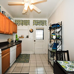Kitchen prep will be a real treat with such ample space and sleek counters.
