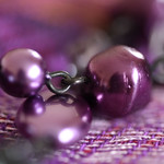 Purple Beads.