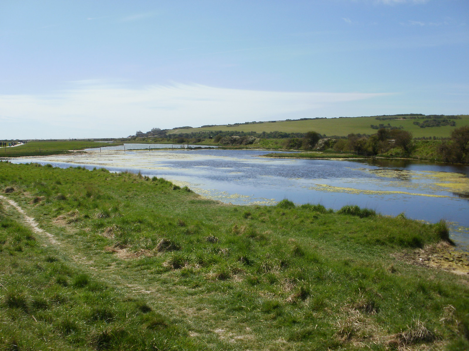 Cuckmere water and path OLYMPUS DIGITAL CAMERA