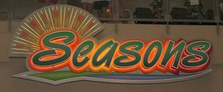 Sunshine Seasons restaurant sign | by mickeyavenue