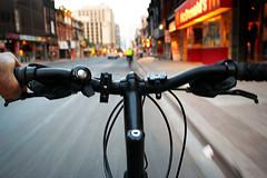 on bike | by wvs