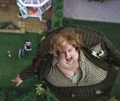 La tía de Dinorider se infló