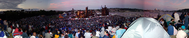 4th of July 2001, Gas Works Park, Seattle, WA