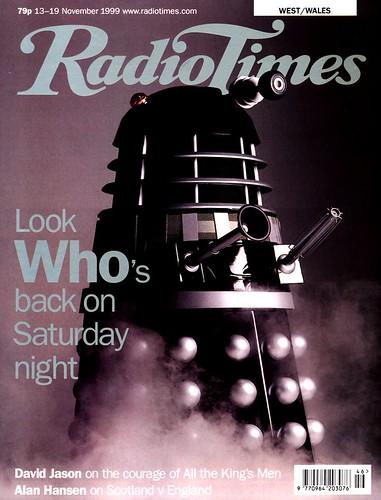 Dr Who, Radio Times, Nov 1999 | by jem