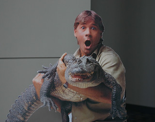 "Steve Irwin, ""Crocodile Hunter"" 