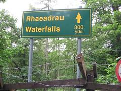 Rhaeadrau, Pontarfynach