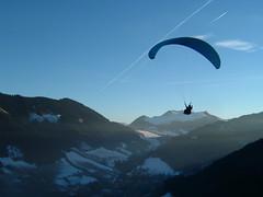 Aurelie in flight