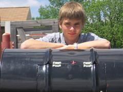 Doug's barrel composter