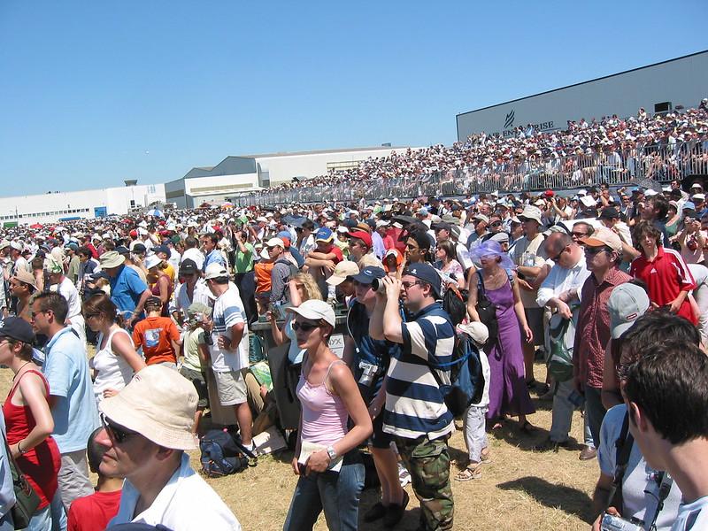 Massive Crowd - lots of Flicker users