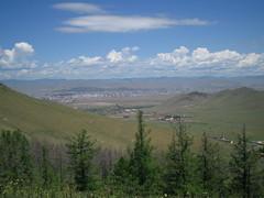 Scape of Ulaanbaatar city.