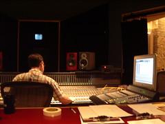 Pat in studio