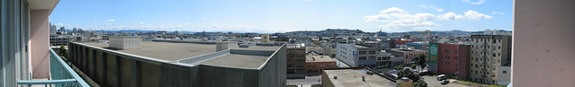The view from Holiday Inn, SF