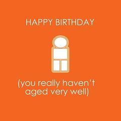 Happy birthday aged