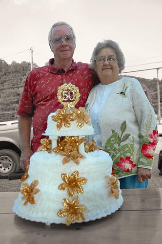 covington virginia 24426 anniversary wedding beth hershel andrews aunt uncle cake celebration cutout family geotagged geolat37807360 geolon79989009