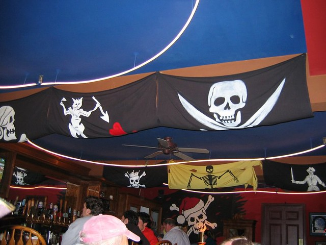 Ceiling, Jolly Roger Taproom - Seattle, WA