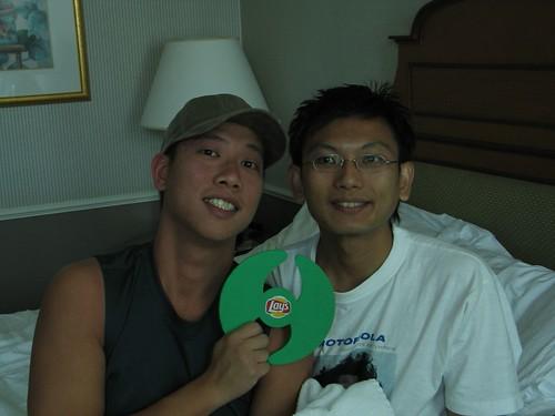 Me, Yam & Shitty Frisbee