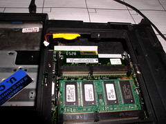 Inside the Thinkpad 600