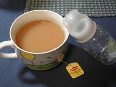 Lipton *breast* milk tea