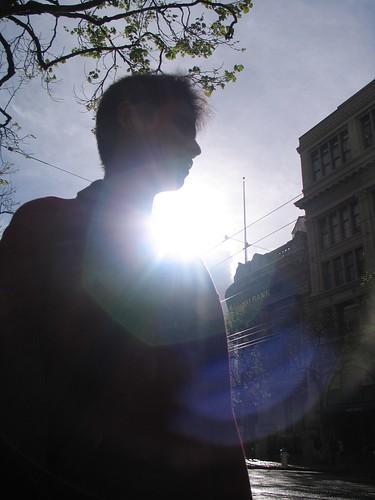 JL Silhouette in SF Street