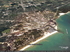 View from Google Earth