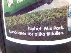 Nyhet. Mix Pack. Kondomer för olika tillfällen.