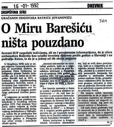 Petar Gračanin u Dnevniku