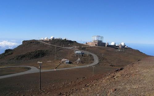 Haleakala Observatory, Haleakala National Park, Maui, Hawaii