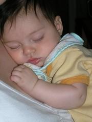 babies sure sleep a lot | by mattdm