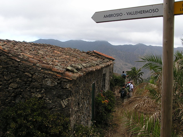 Ruta a Roque Cano Vallehermoso isla de La Gomera 82