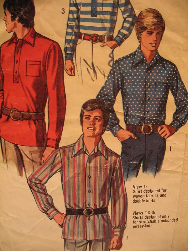 Men's fashion 1970s