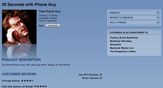 Phone Guy on the iTunes | by merlinmann